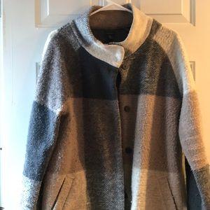 Paraphrase Wool Cocoon Jacket